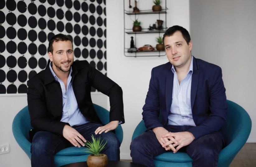 CEO Amit Bareket [L] and CPO Sagi Gidali [R] from Perimeter  (photo credit: Courtesy)