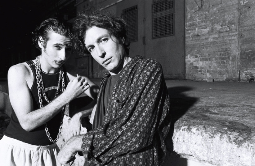 BERRY SAKHAROF (right) and REA MOCHIACH (photo credit: RAN GOLANI)