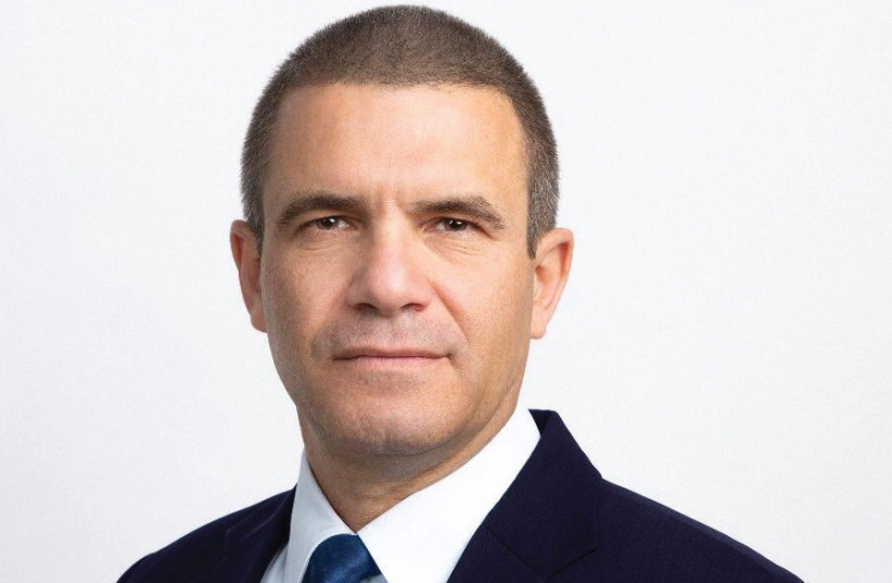 GAL HIRSCH, chairman of both the Israel Leadership Institute and Magen Party (photo credit: EIRAD NETZER)