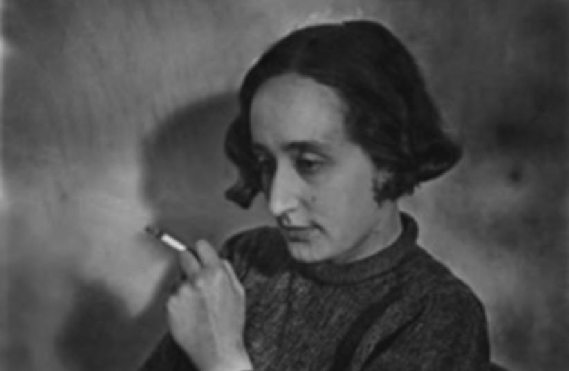 A 1936 PORTRAIT of Edith Tudor-Hart. (photo credit: Wikimedia Commons)