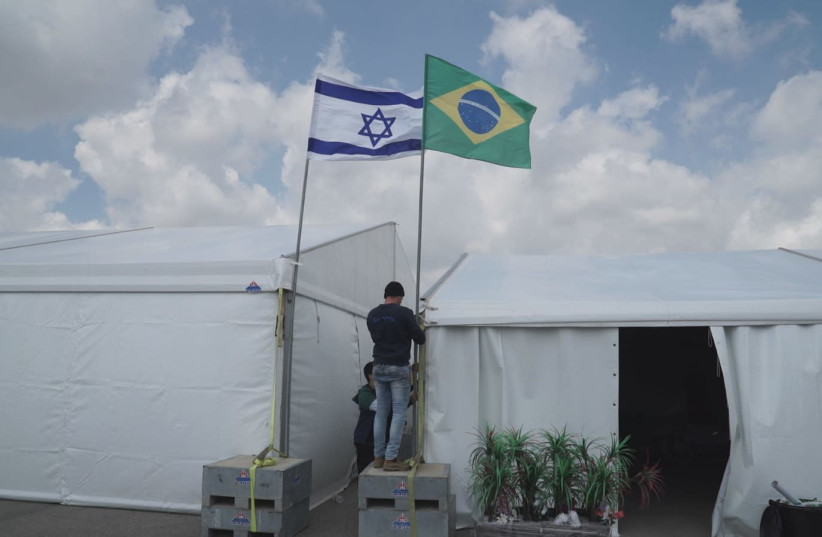 Israel is getting ready for visit of Brazilian leader Jair Bolsonaro (photo credit: DEFENSE MINISTRY)