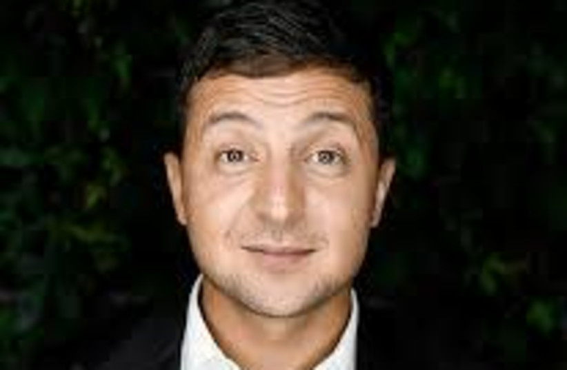 Volodymyr Zelensky (photo credit: Wikimedia Commons)