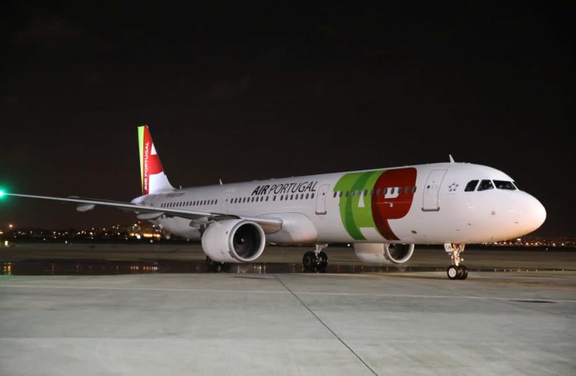 A TAP Air Portugal plane. (photo credit: Courtesy)
