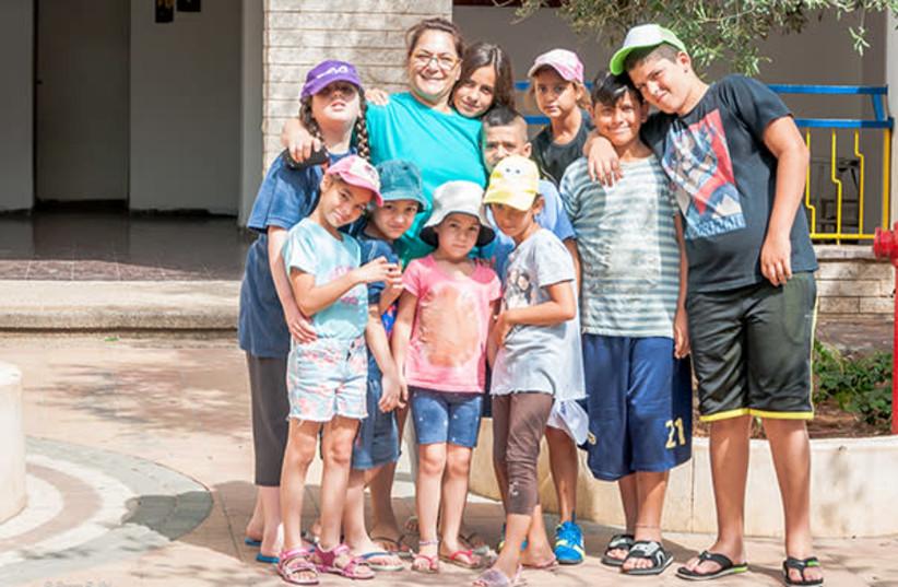 Ahava Village provides a loving home for traumatized children (photo credit: Courtesy)