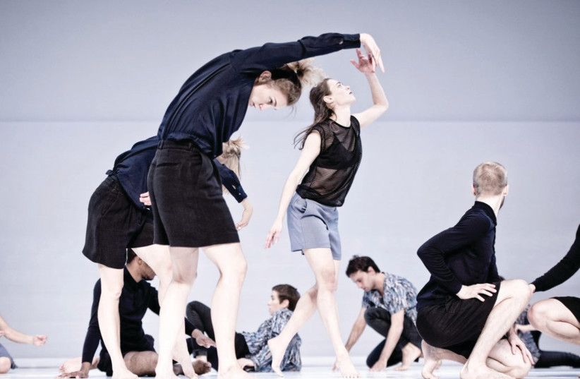 SWEDEN'S CULLBERG Dance Company will perform 'Figure a Sea' by Deborah Hay with music by Laurie Anderson (photo credit: URBAN JOREN)