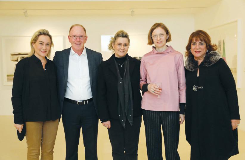 FROM LEFT, Lilach Asher-Topilsky, Shaul Kobrinsky, Aya Lurie, Natalia Zorabova and Shulamit Nuss (photo credit: EZRA LEVY)