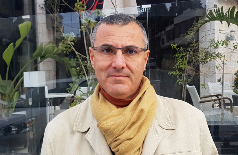 Omar Barghouti, co-founder of the BDS Movement for Palestinians (photo credit: MOHAMAD TOROKMAN/REUTERS)