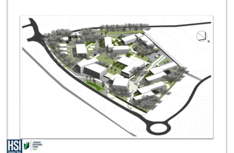 Beersheva Educational campus design / JNF-USA (photo credit: Courtesy)