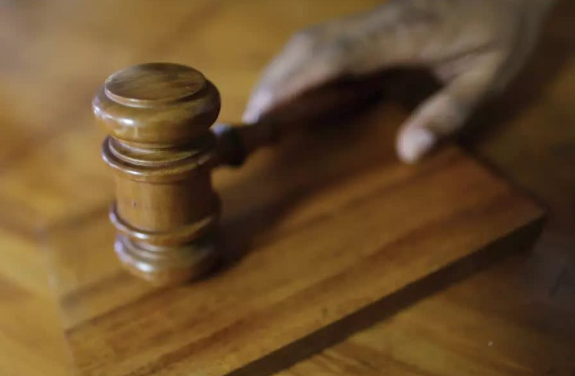 A gavel in a court of law (photo credit: REUTERS)