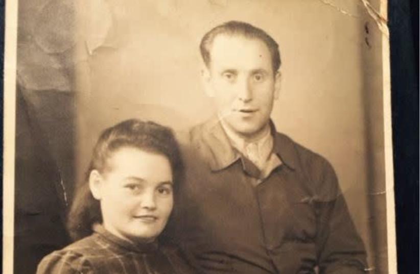 Henryk and Hanna Arfa, the writer's grandparents, after the war (photo credit: ORIT ARFA)