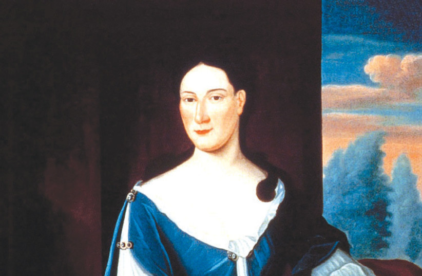 Abigail Franks (1696–1756) wrote about American Jewish life in 18th-century New York (photo credit: Wikimedia Commons)