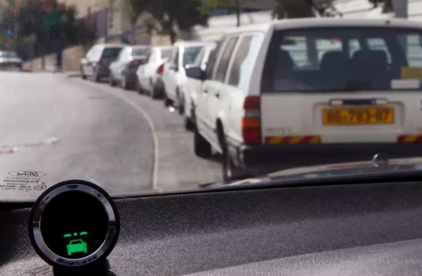 The vehicle-dafety system by Mobileye (photo credit: REUTERS)