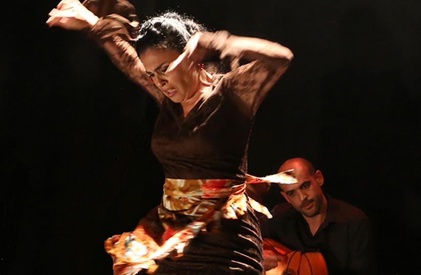 Flamenco dancer Keren Pesach (photo credit: NATASHA SHACHNES)