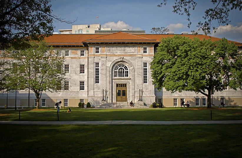 Candler Library, Emory University (photo credit: MPSPQR VIA WIKIPEDIA)