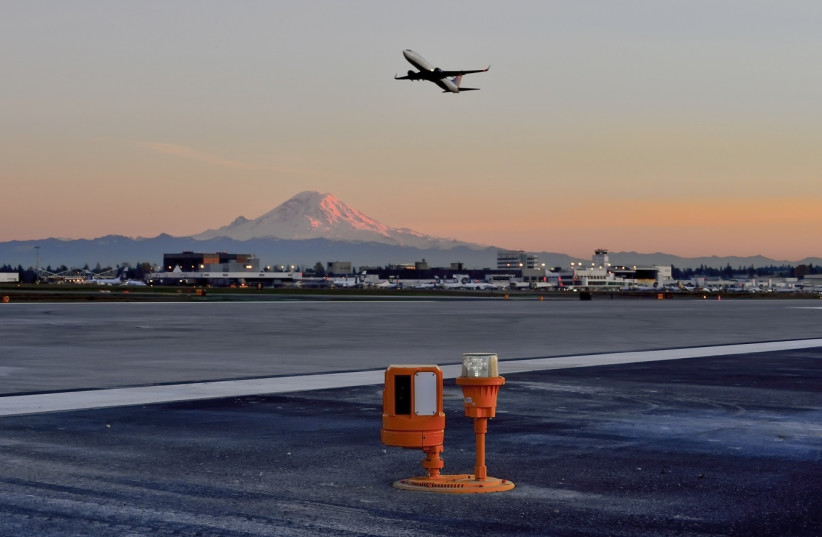 Xsight Systems' foreign object debris (FOD) detection solution RunWize at Seattle-Tacoma International Airport (photo credit: Courtesy)