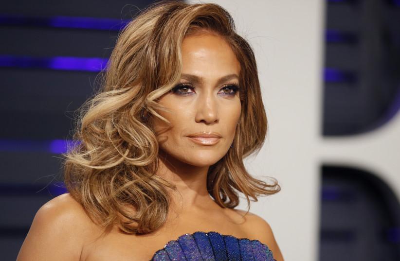 91st Academy Awards – Vanity Fair – Beverly Hills, California, U.S., February 24, 2019 – Jennifer Lopez.  (photo credit: REUTERS/DANNY MOLOSHOK)