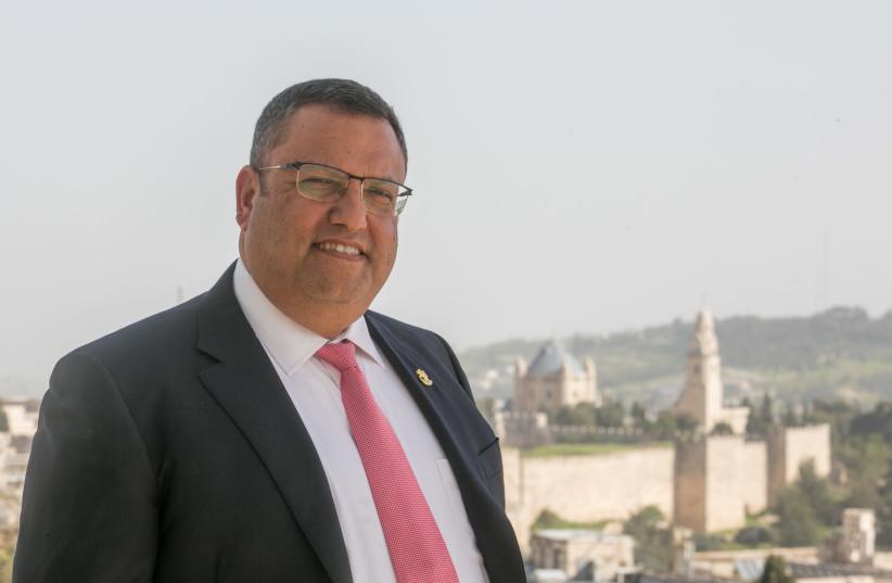 Moshe Lion, 2019. (photo credit: MARC ISRAEL SELLEM)
