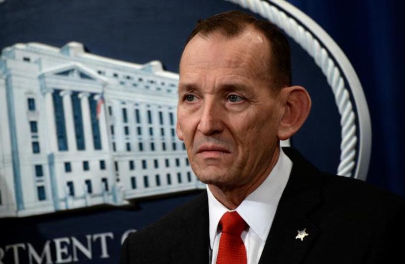 Former U.S. Secret Service Director Randolph Alles (photo credit: REUTERS/ERIN SCOTT)