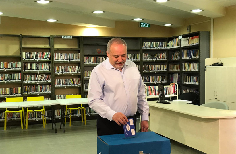 Avigdor Liberman (photo credit: Courtesy)