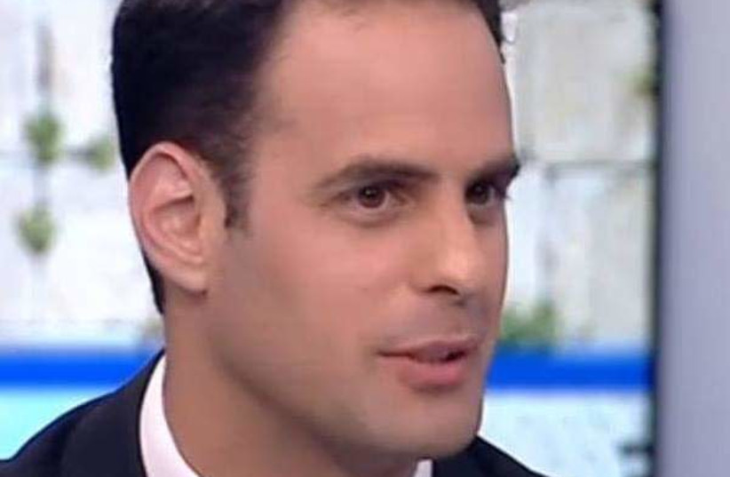 Ran Bar-Yoshafat, Attorney, Israeli Activist and a candidate for the New Right party (photo credit: Courtesy)