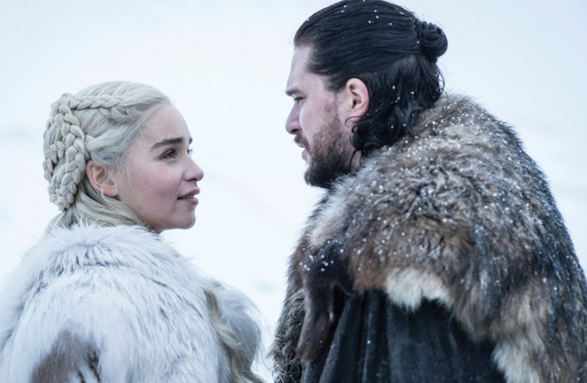 'Game of Thrones' final season to open Monday (photo credit: COURTESY YES)