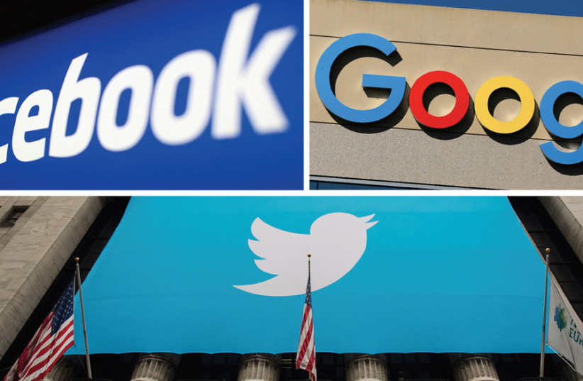 'FACEBOOK, GOOGLE and Twitter remove some things, but usually society is not disturbed by defamation.' (photo credit: Courtesy)
