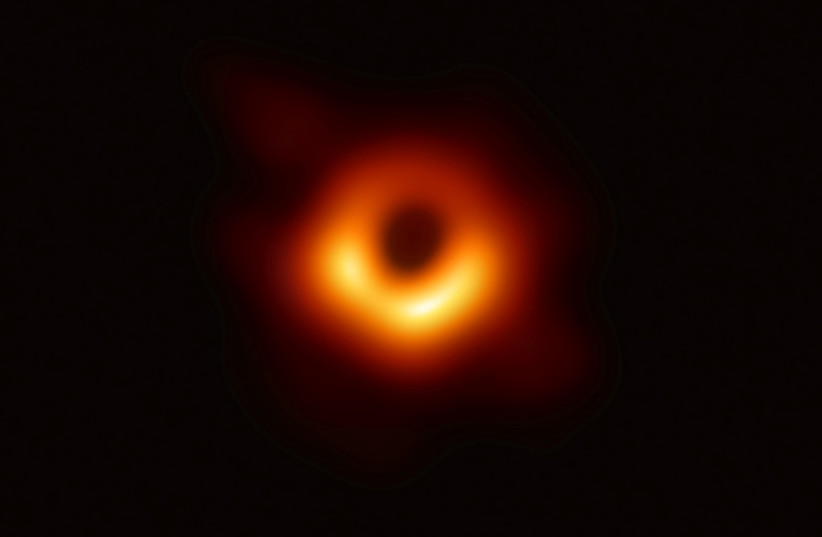 First ever image of a black hole (photo credit: HANDOUT/REUTERS)