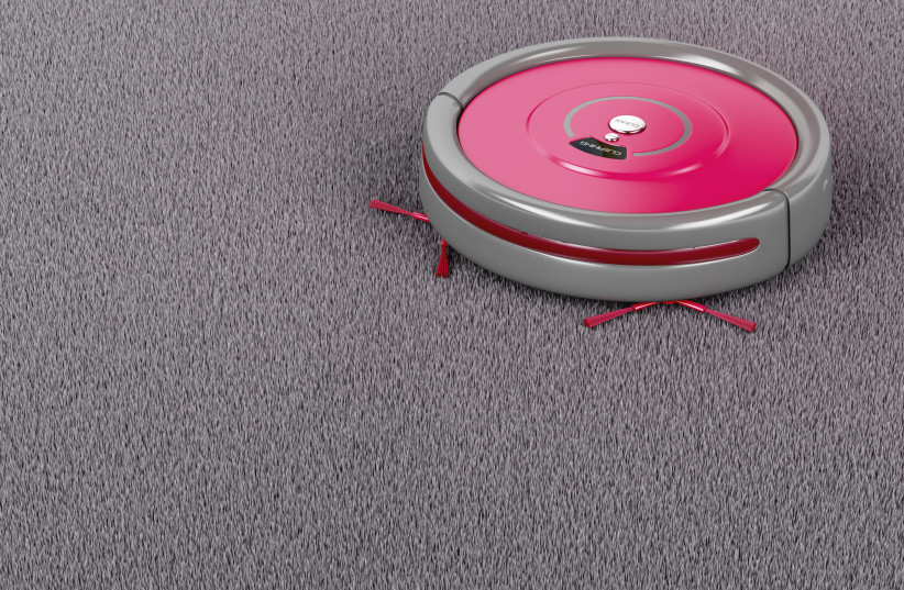 Roomba vacuum (photo credit: INGIMAGE)