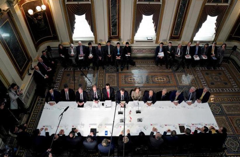 The White House in Washington (photo credit: REUTERS/JOSHUA ROBERTS)