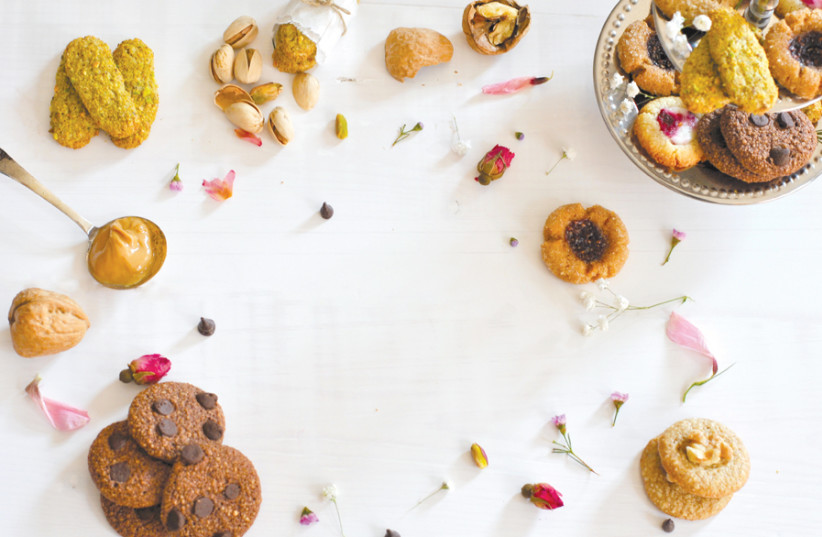 Kosher-for- Passover cookies (photo credit: PASCALE PEREZ-RUBIN)