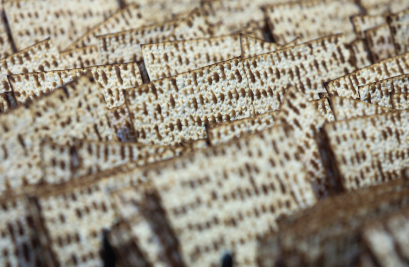 'EVEN DURING the dark days of the Holocaust, we find accounts of brave Jews who went to incredible lengths to obtain matzah.' (photo credit: MARC ISRAEL SELLEM)