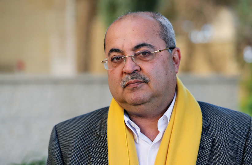 AHMAD TIBI – since Israel's very first election in 1949, Arabs have voted and served as members in the Israeli parliament, the Knesset (photo credit: REUTERS)