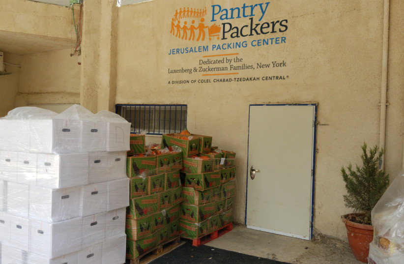 Colel Chabad to distribute 22,000 Passover meals. (photo credit: Courtesy)