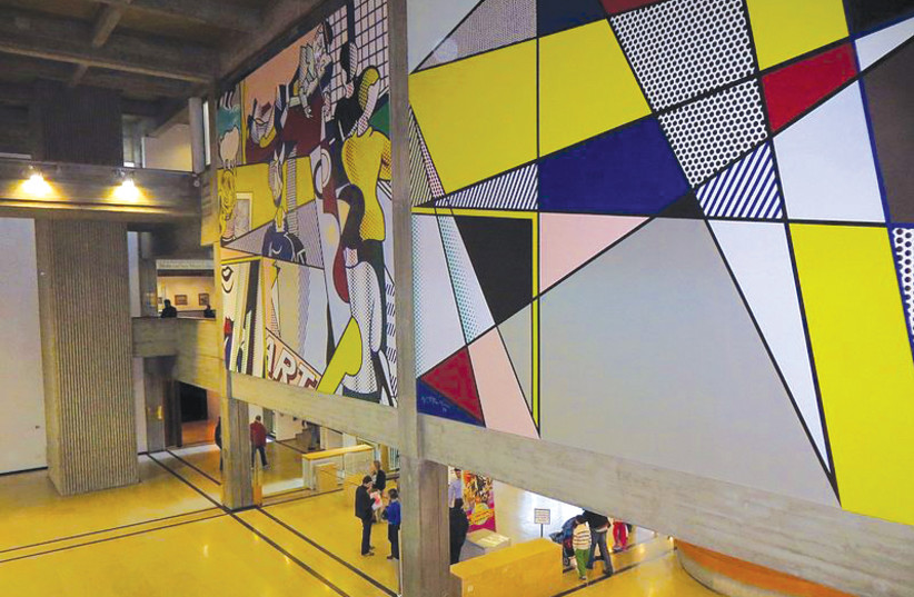 WHETHER IT'S Lichtenstein or Agam, the Tel Aviv Museum of Art will challenge your perceptions. (photo credit: Wikimedia Commons)