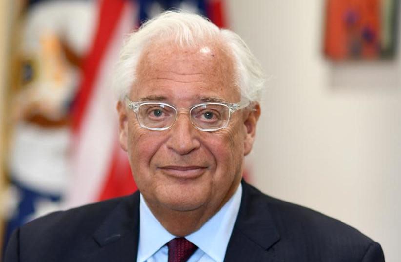 US Ambassador David Friedman (photo credit: MATTY STERN/US EMBASSY JERUSALEM)