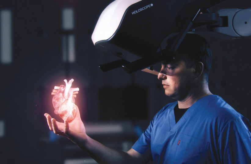 RealView creates the only true 3D interactive holograms within hands' reach (photo credit: Courtesy)