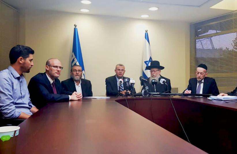 Coalition talks between UTJ, Likud and Shas  (photo credit: UTJ)
