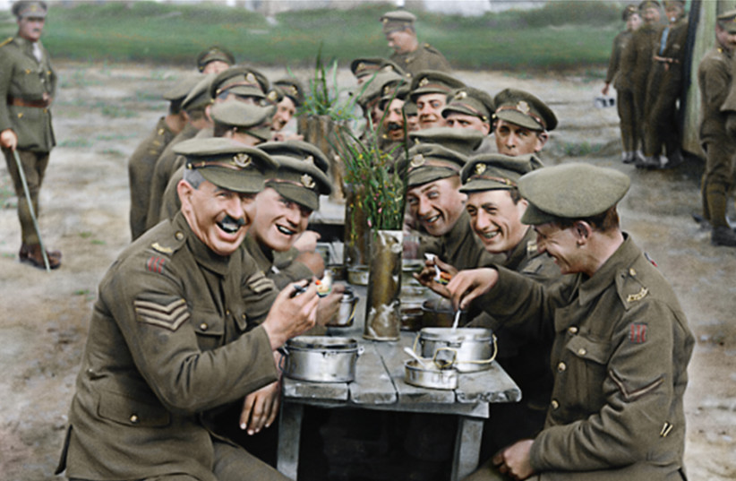 PETER JACKSON'S 'THEY SHALL NOT GROW OLD' (photo credit: Courtesy)