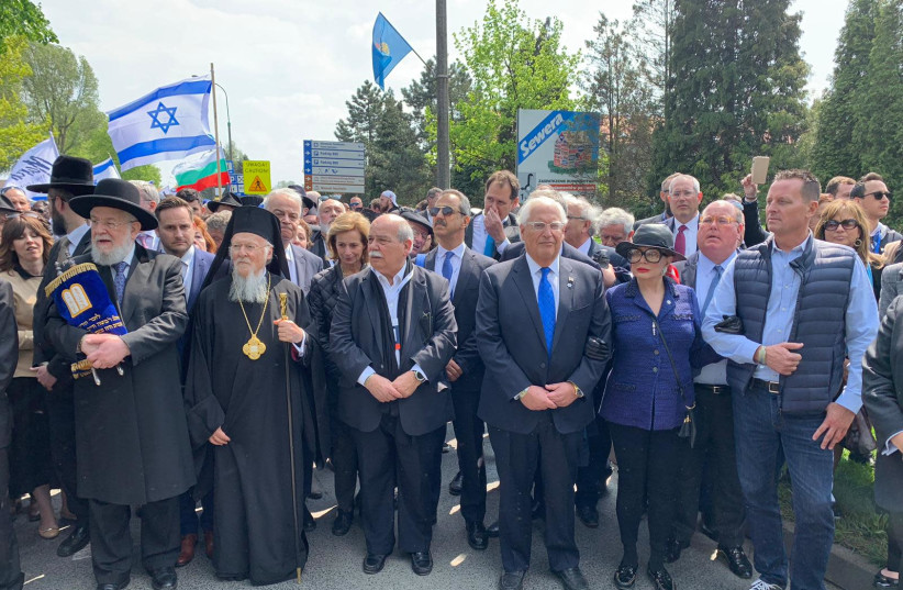March of the Living in 2019 (photo credit: EYTAN HALON)