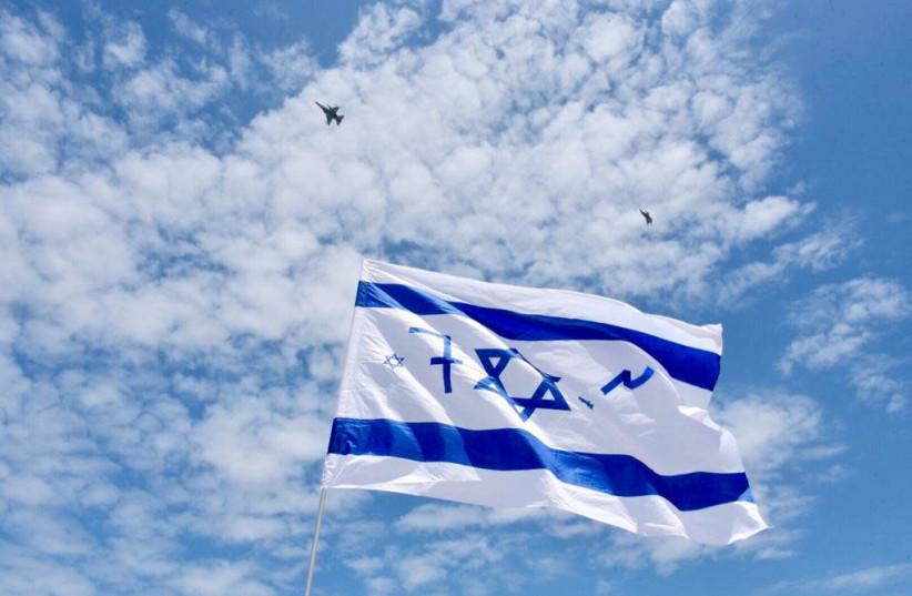 Flyover on Israel's Independence Day on May 9th, 2019 (photo credit: AVSHALOM SASSONI/ MAARIV)