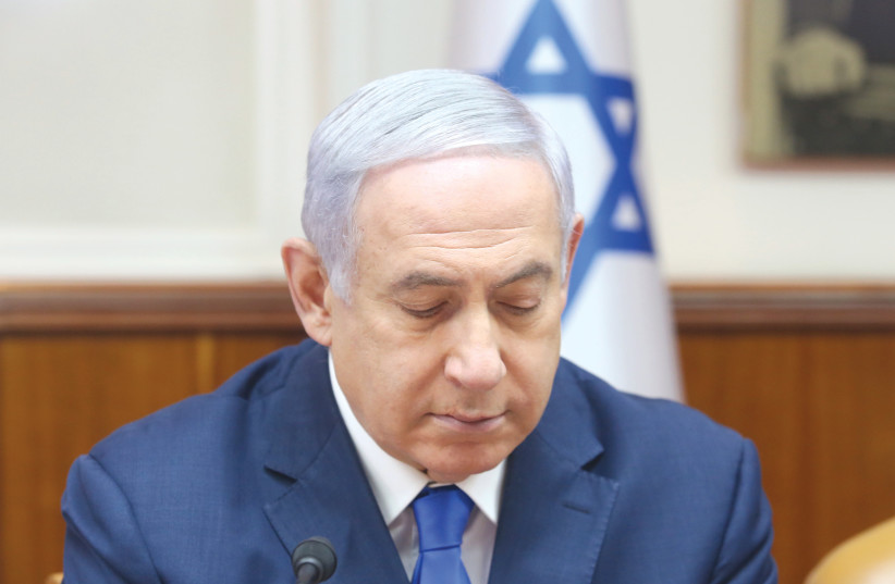 THE FALSE narratives about Prime Minister Benjamin Netanyahu also make the establishment of a unity government with the Center-Left impossible (photo credit: MARC ISRAEL SELLEM/THE JERUSALEM POST)
