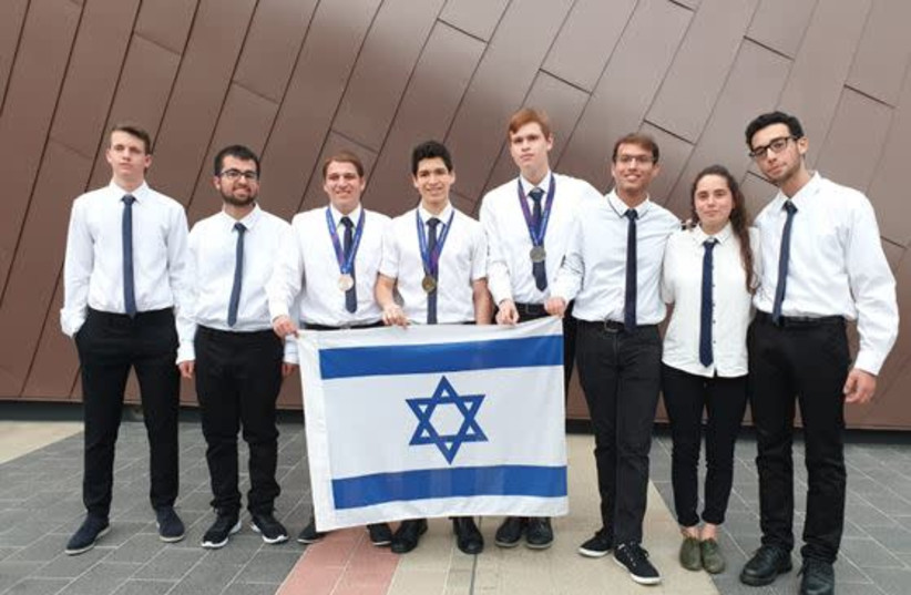 The Israeli team that took part in the 2019 Asian Physics Olympiad  (photo credit: FUTURE SCIENTISTS CENTER)