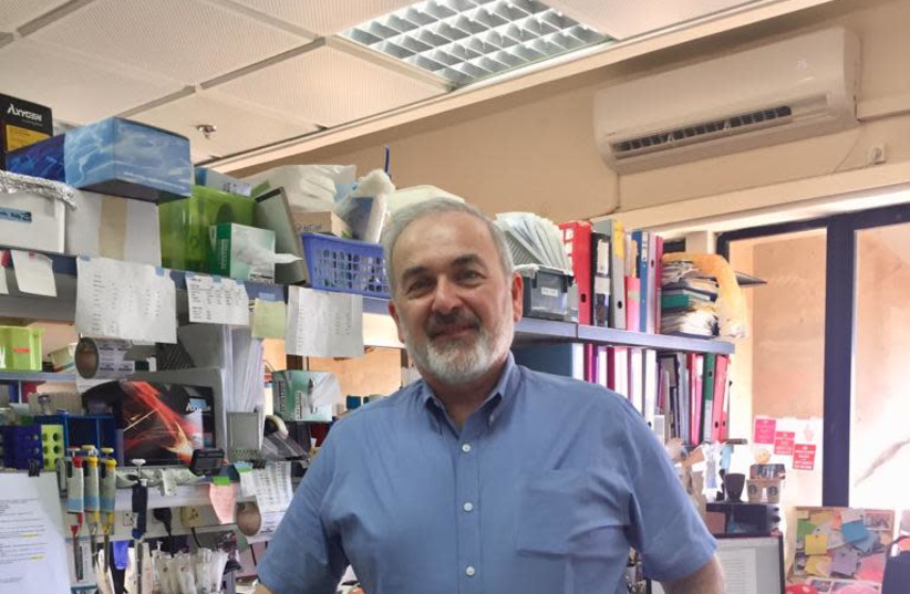 TAU to honor Jewish geneticist Adrian Krainer, who discovered treatment for SMA, with an honorary doctorate. (photo credit: MAAYAN JAFFE-HOFFMAN)