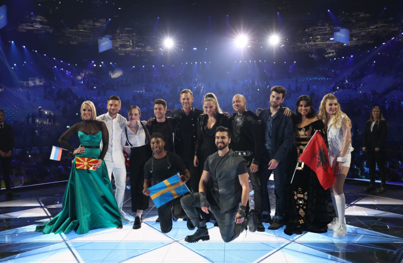 The 10 acts that made it through the  second semi-final. (photo credit: ORIT PNINI/KAN)