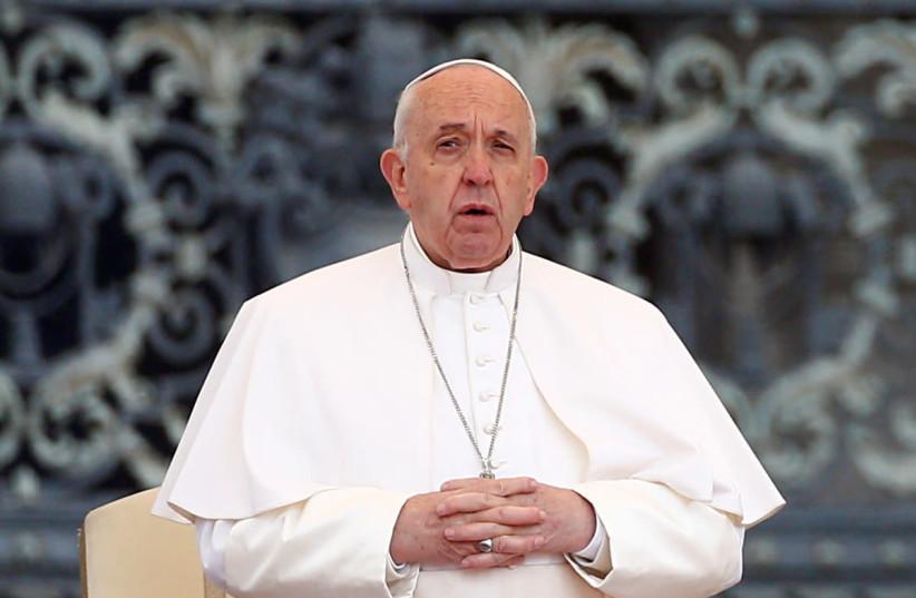 Pope Francis holds weekly general audience at the Vatican, May 15, 2019. (photo credit: REUTERS/YARA NARDI)
