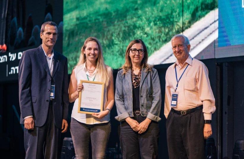 Romi Gouves and Nevo Almalem, creators of the Clanz project, win the Glickman Prize. (photo credit: Courtesy)