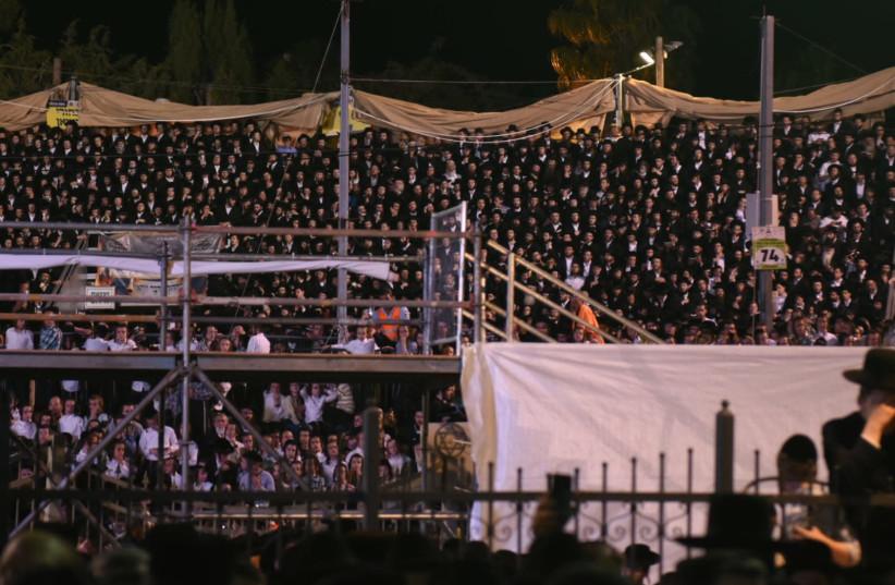 Lag Ba'Omer celebrations in Meron May 22, 2019 (photo credit: KOBI RICHTER/TPS)