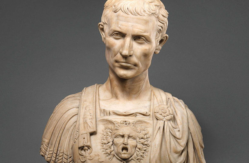 JULIUS CAESAR was declared immune – or 'sacrosanct' – shortly before his colleagues decided to end his rule. (photo credit: PICRYL)