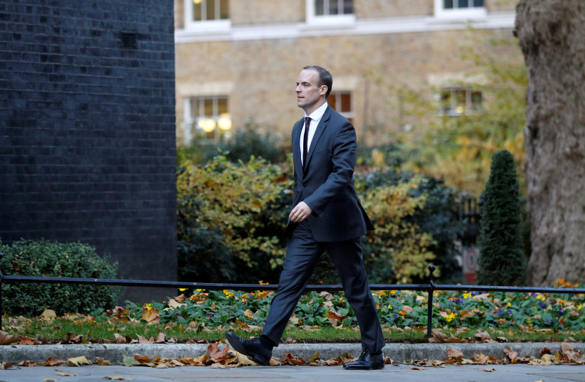 Dominic Raab, whose father was a Jewish refugee, is Britain's acting PM