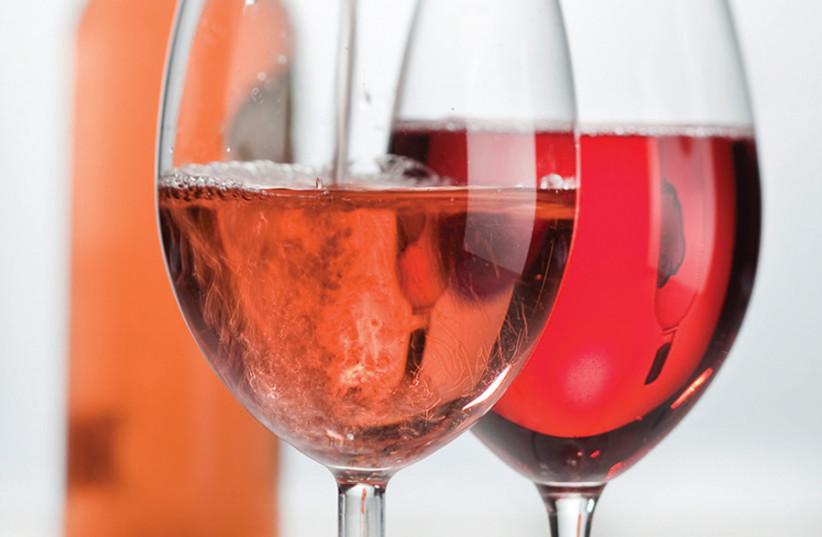 Rosé wine (photo credit: TNS)